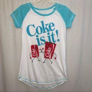 Coca Cola Women's Coke Is It! T-Shirt Size Small